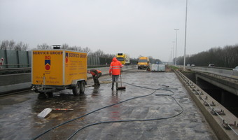 Hogedruk waterreinigen - High pressure water cleaning - Hochdruckwasserreinigung