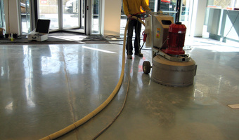 Polijsten beton - Polishing concrete - Polieren Beton